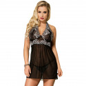 Ensemble Hagar Noir Transparent